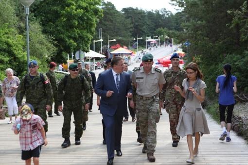 "Projektas ""NATO diena regione""  prasideda Varėnoje"