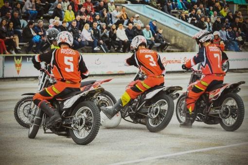 Tarptautiniame motobolo turnyre nugalėjo kretingiškiai
