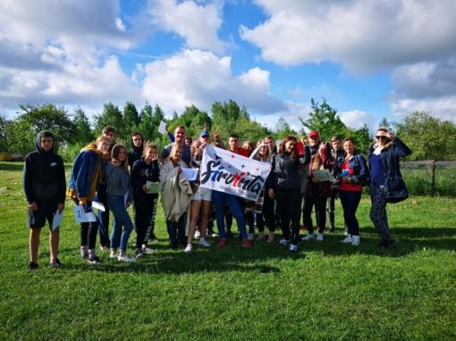 Širvintų rajono jaunimui – vienos dienos stovykla