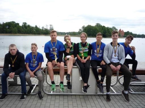 Trakų ežeras atnešė didžiulę sėkmę Plungės sporto ir rekreacijos centro irkluotojams