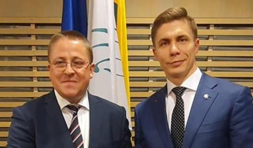 Palangos miesto meras Šarūnas Vaitkus išrinktas Lietuvos savivaldybių asociacijos viceprezidentu