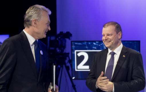 S. Skvernelis susitinka su G. Nausėda aptarti politinę situaciją