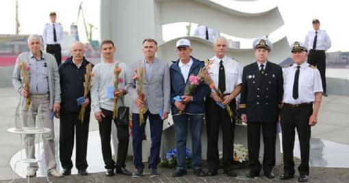 Gavusiųjų jūros veteranų ženklus gretos gausėja