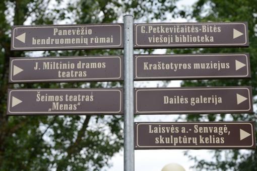 Panevėžyje – turizmo ženklų plėtra