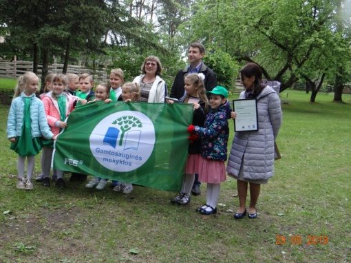 Panevėžio mokykloms – Žaliosios vėliavos