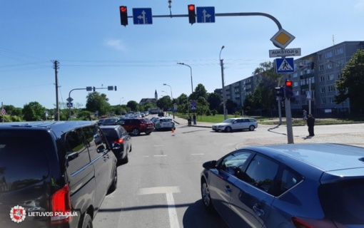 Šiaulių gatvėse vakar nukentėjo keturi žmonės