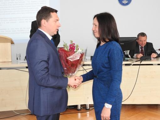 Paskirta savivaldybės administracijos direktorė