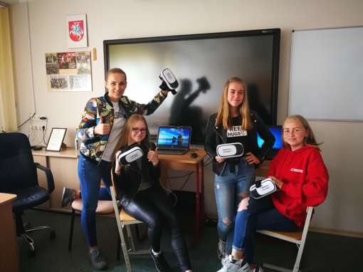 eTwinning projektas Virtual Trip