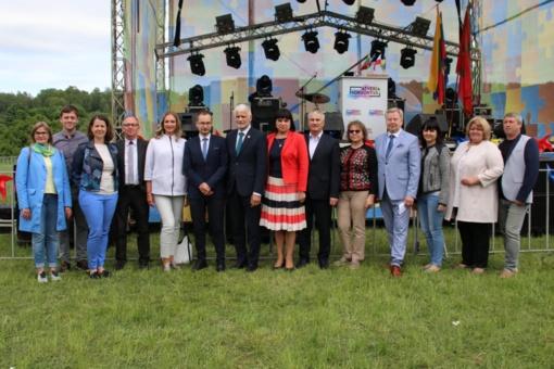766-ojo Gargždų gimtadienio metu stiprinti ir tarptautinės partnerystės ryšiai