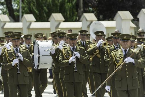 Tauragėje skambėjo karinių orkestrų muzika
