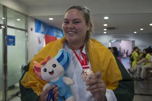 Po traumos atsigavusi dziudo kovotoja S. Pakenytė vejasi olimpinę svajonę