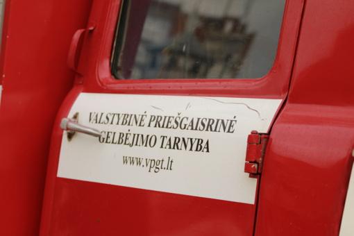 Ugniagesiai suvaldė Kauno Jėzuitų bažnyčios pastogėje kilusį gaisrą