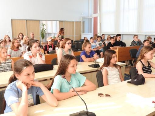 Ignalinoje poilsiauja vaikai iš Lenkijos