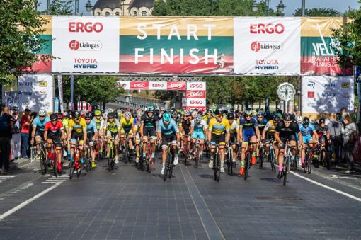 Sostinę drebins jubiliejinis dviračių maratonas