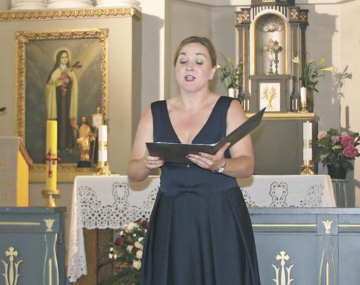 Liudvinavo bažnyčioje – muzikos ir gerumo virpesiai