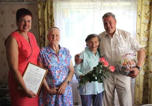 Pasveikinta 90-metį švenčianti Pagėgių krašto gyventoja