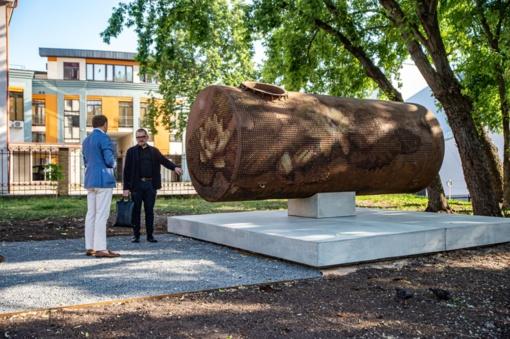 Vilniaus centre – naujas šiuolaikinio meno kūrinys