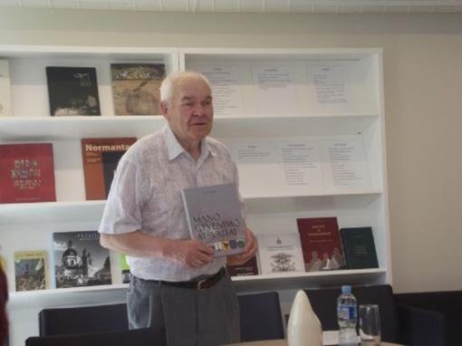 """Akmenės rajono garbės piliečio A. Lupeikos knygos """"Mano gyvenimo atšvaitai"""" pristatymas"""
