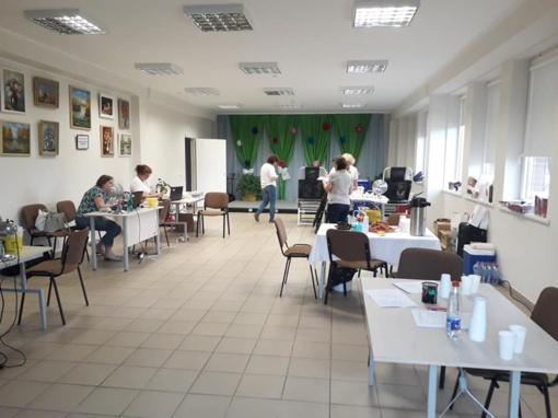 10-oji kraujo donorystės akcija Šiaulių kaime