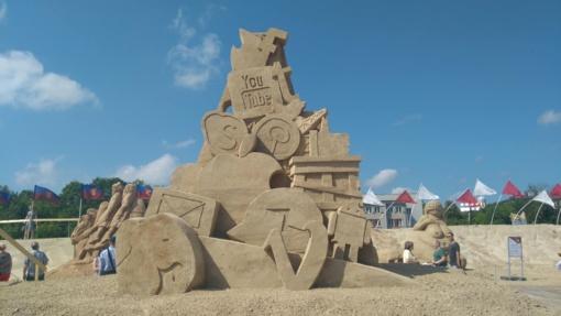 Jelgava ir vėl žavi smėlio skulptūromis (fotogalerija, vaizdo įrašas)