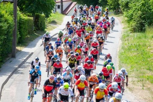 Lazdijų miesto ir rajono keliuose – dviratininkų lenktynės
