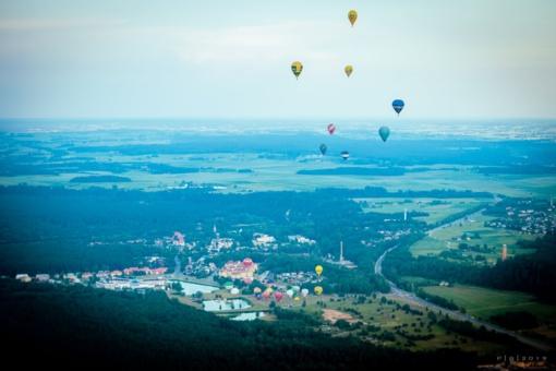 Rokas Kostiuškevičius triumfavo Lietuvos karšto oro balionų čempionate