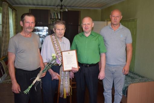 Ilgaamžiams – Savivaldybės vadovų sveikinimai