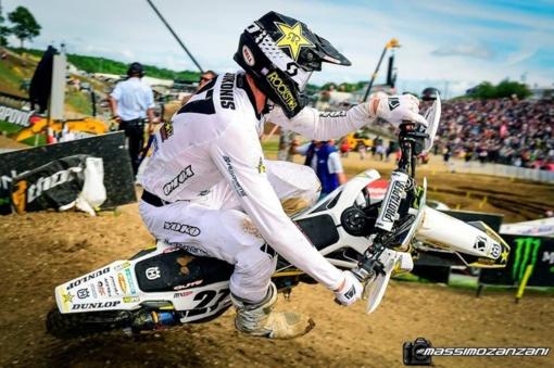 A. Jasikonis aštuntajame pasaulio motokroso čempionato etape užėmė 10-ąją vietą