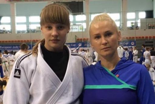 Ligita Navarauskaitė – Kauno rajono atstovė Olimpiniame dziudo jaunimo festivalyje