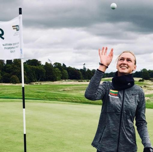 G. B. Starkutė triumfavo atvirajame Lenkijos golfo čempionate