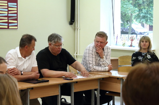 Mokslininkų vizitas S. Daukanto gimnazijoje: kas yra gera mokykla ir kaip ją Lietuvoje kurti?