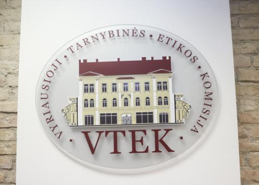 VTEK svarstys dviejų asmenų elgesį dėl galbūt neteisėtos lobistinės veiklos