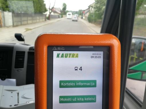 Vasarą keičiasi viešojo transporto tvarkaraščiai