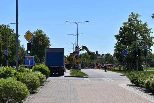 Transporto eismas Rengės pervaža bus atidarytas rytoj