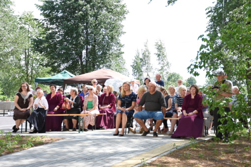 Dargužiuose tradicinė Sekminių šventė vyko atnaujintoje erdvėje