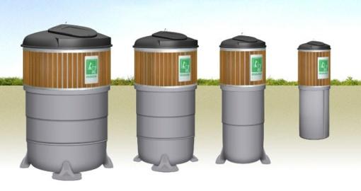 Bus tikslinama komunalinių atliekų surinkimo konteinerių aikštelių vietų išdėstymo schema