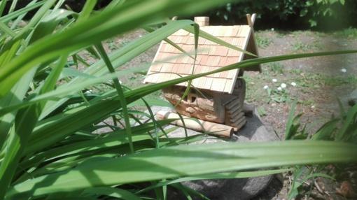 """""""Žirniuko"""" vabzdžių nameliai"""