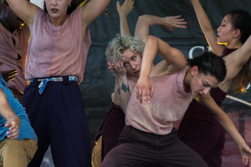 Gamtos įkvėptas šokio spektaklis prišaukė galingus vėjo gūsius (fotogalerija)