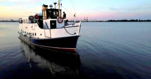 """Motorlaivių istorijos tąsa Klaipėdoje – Laivas """"Forelle"""""""