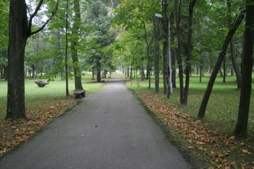 Stabdomas Vilniaus Sapiegų parko atnaujinimas