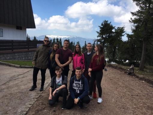 Gimnazistų viešnagė Čekijoje