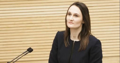 """Opozicijos lyderė apie R. Karbauskio naujo """"tvarkiečių"""" frakcijos nario paieškas: tai nusižengimas demokratijai"""