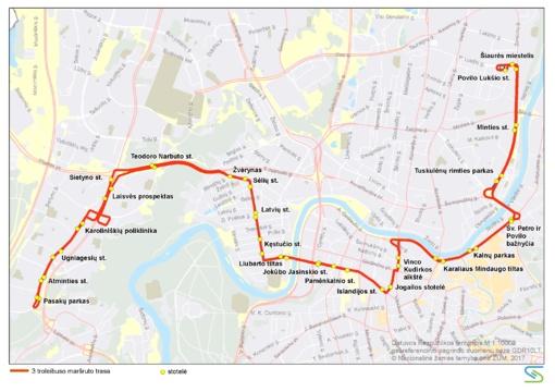 Nuo birželio 22 d. Vilniuje keičiami daugelio viešojo transporto maršrutų tvarkaraščiai