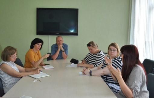 Susitikta pokalbiui dėl iniciatyvų, svarbių kultūrai ir turizmui puoselėti