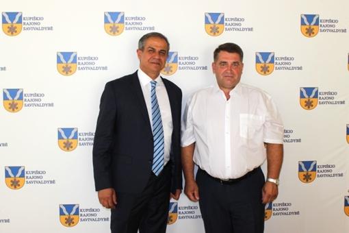 Kupiškyje lankėsi Izraelio ambasadorius