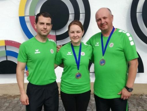 Europos policijos šaudymo čempionate lietuviai iškovojo du medalius