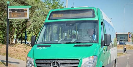 Apie atvykstantį autobusą informuojanti švieslentė – jau veikia