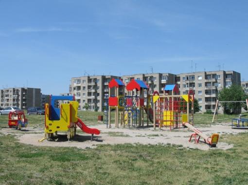 Ukmergės mieste atsiras daugiau vaikų žaidimo aikštelių