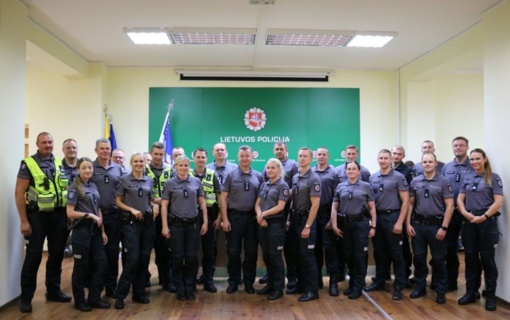 Geriausios Alytaus apskrities policijos komandos konkursas