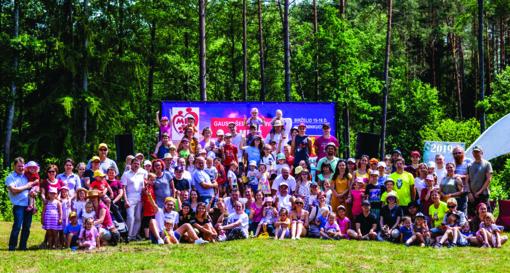 """Gausių šeimų festivalis MES: """"Santuokos tvirtovė statoma ilgai"""""""